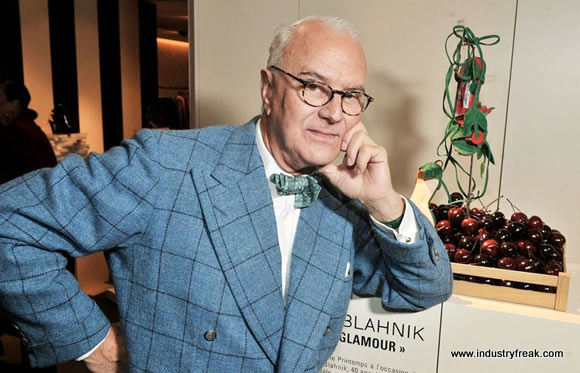 Manolo Blahnik- Fashion Designers In The World
