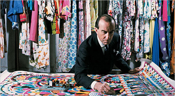 Emilio Pucci-Fashion Designers In The World