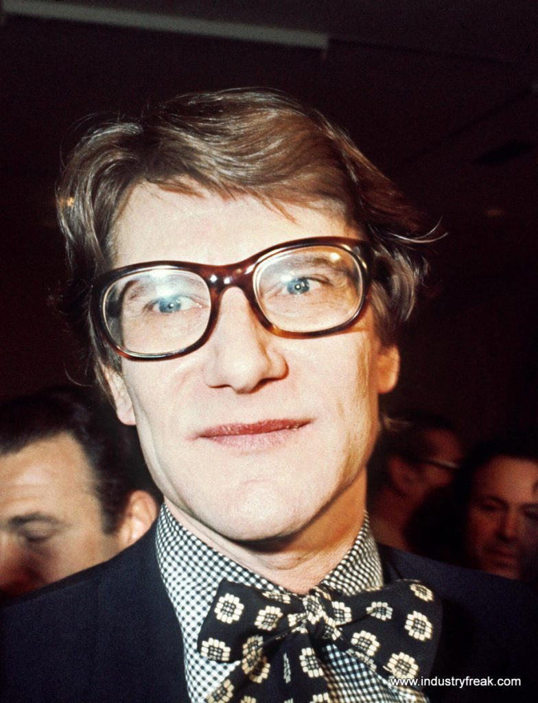 Yves Saint Laurent- fashion designer