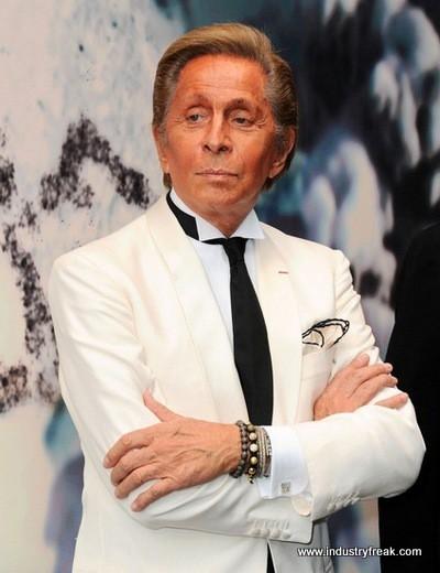 Valentino Garavani- fashion designer
