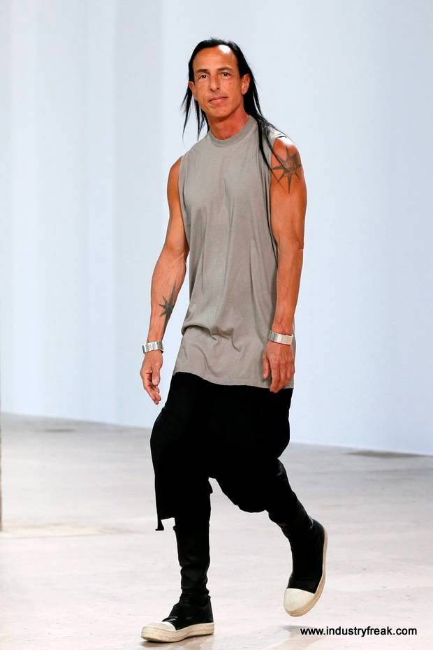 Rick Owens- Fashion Designers In The World