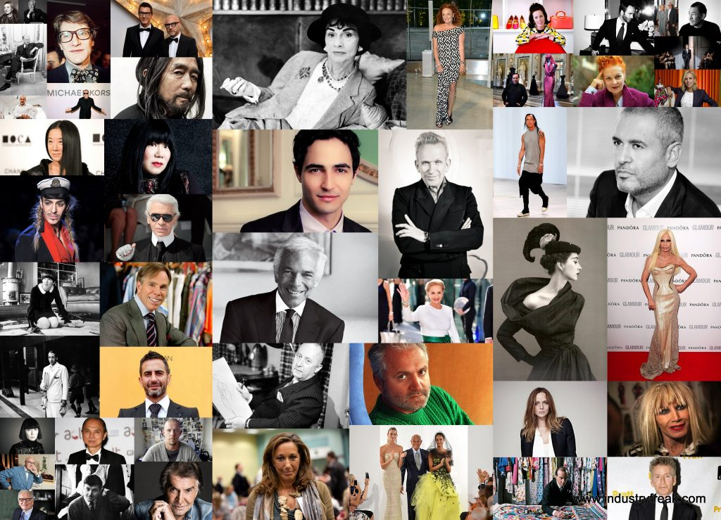 Top 50 Fashion Designers In The World Industry Freak