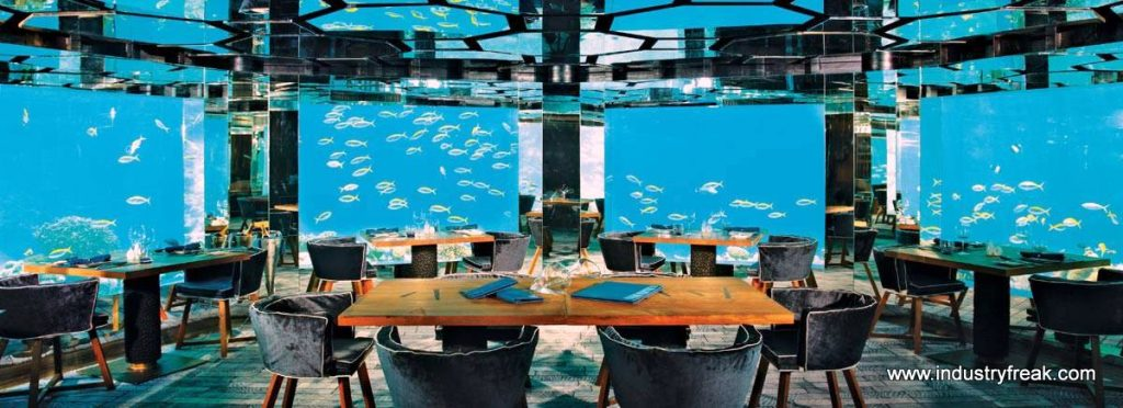 Anantara-Kihavah-Villas_Sea-Underwater-Restaurant - Most Expensive Hotel