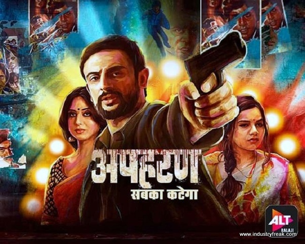 Apharan is available on alt balaji.