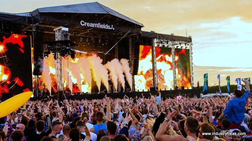 Creamfields EDM Festival