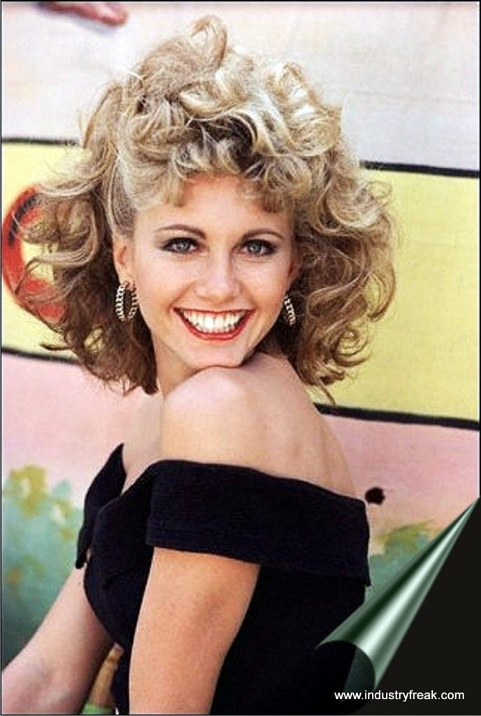 Olivia newton 80s fashion icon