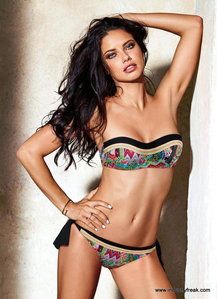 Adriana Lima Hot in Bikini and Bra