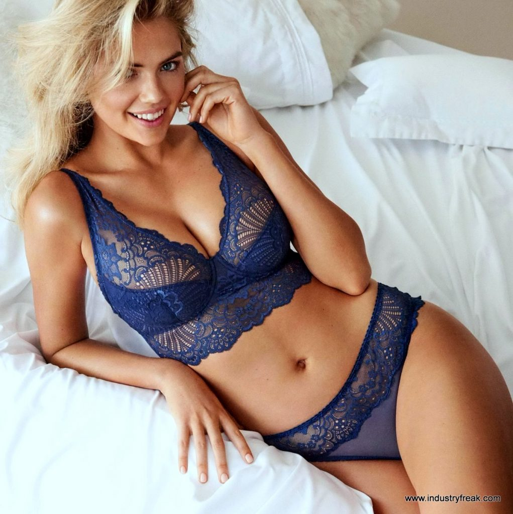 Kate Upton Hottest Lingerie Picture