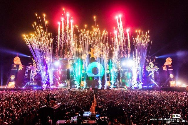 SUnburn Asias biggest EDM Festival
