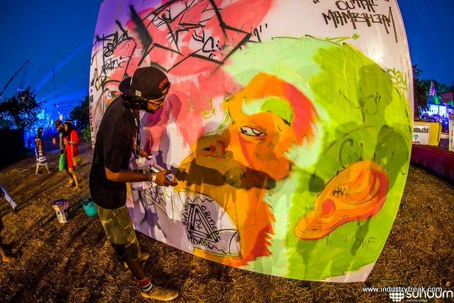 Activities in Sunburn Festival
