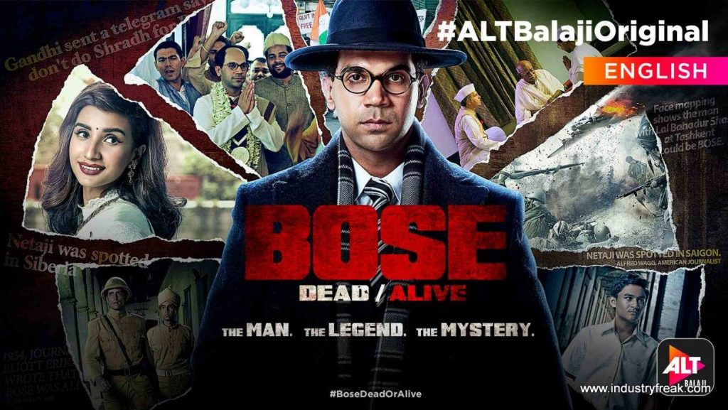 Bose: Dead/Alive is available on alt balaji.