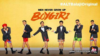 Boygiri is available on alt balaji.