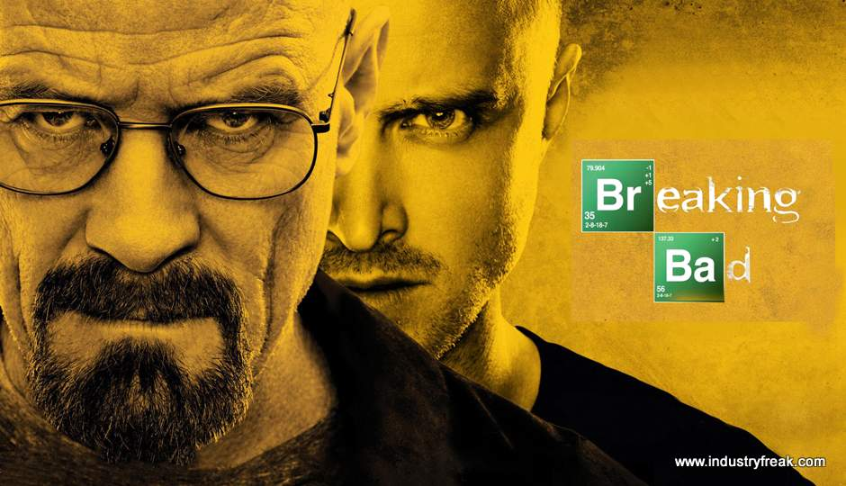 Breaking Bad ranked 9th on the list of best tv series of all time.