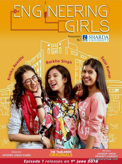Engineering Girls webseries in Hindi