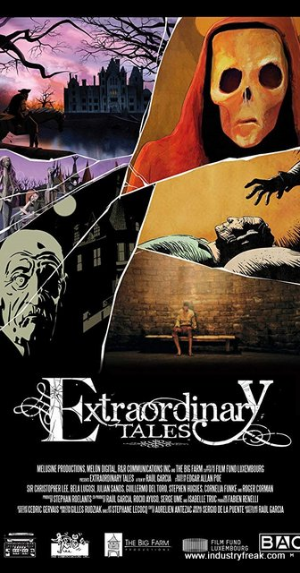 Extraordinary Tales Horror Movie streaming on Nettflix