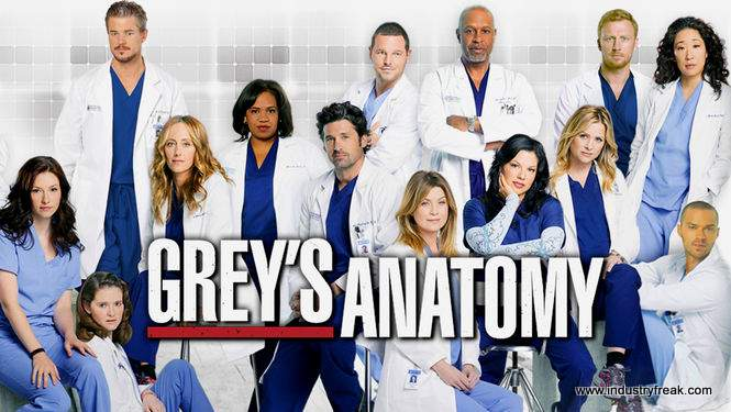 Grey's Anatomy ranked 5th on the list of best tv series of all time.