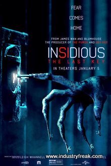 Insidius top horror and scary movie