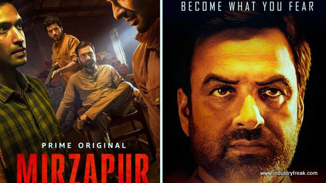 Mirzapur web series on amazon prime in hindi