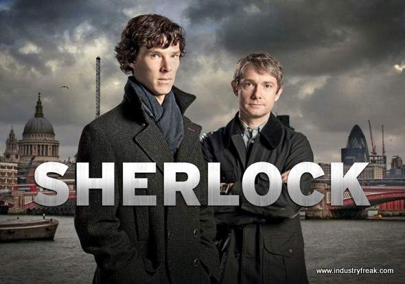 Sherlock ranked 8th on the list of best tv series of all time.