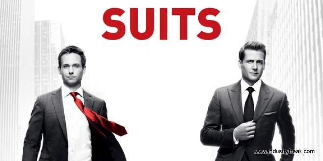 Suits ranked 6th on the list of best tv series of all time.