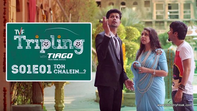 Tripling family hindi web series