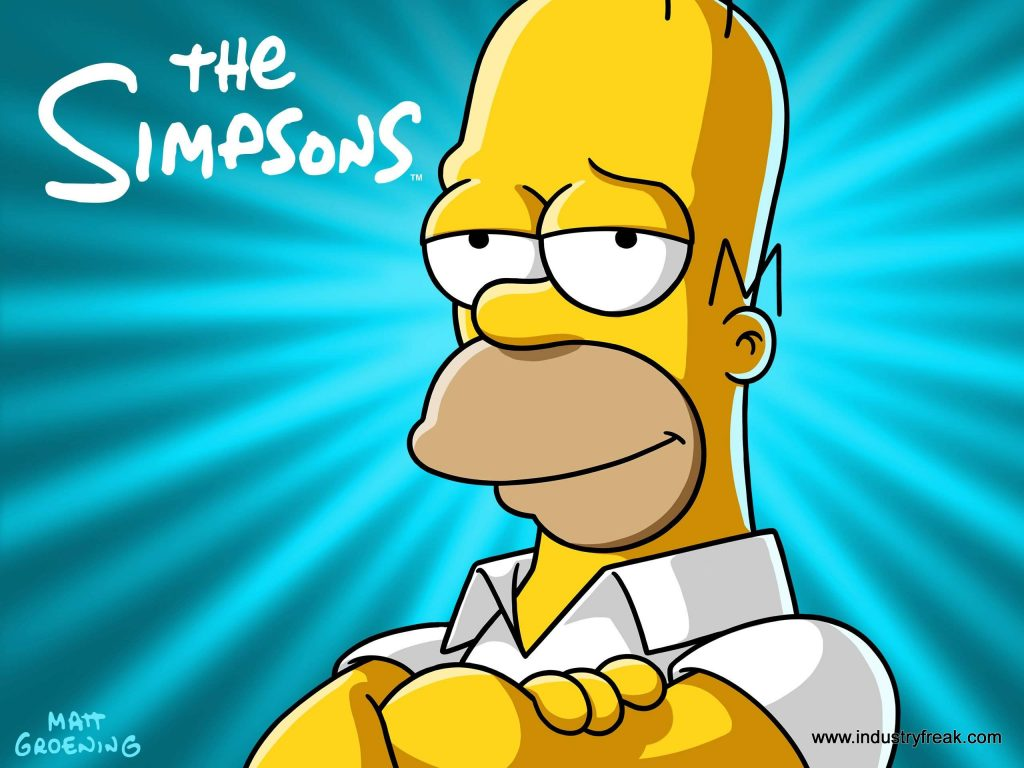 The Simpsons ranked 10th on the list of best tv series of all time.