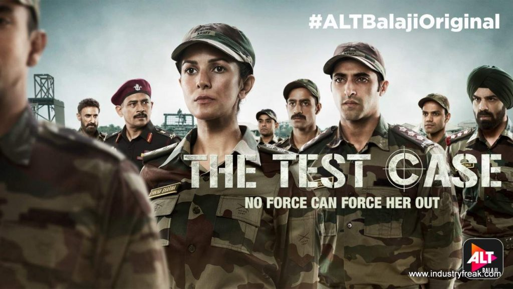 The Test Case is available on alt balaji.