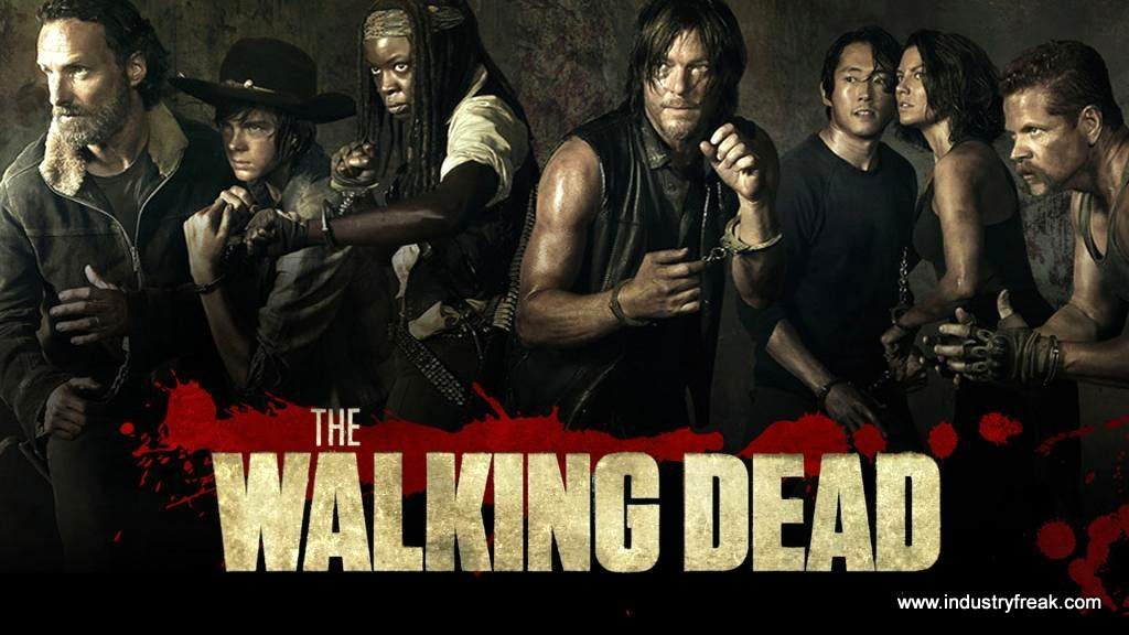 The Walking Dead ranked 7th on the list of best tv series of all time.