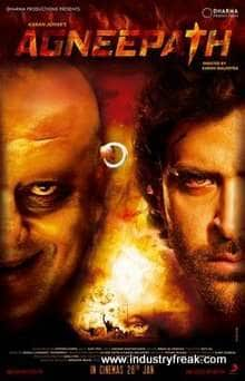 Agneepath (2012) is 12th on the list of best action movies of bollywood