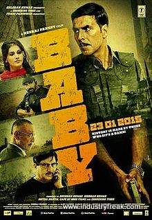 Baby is 2nd on the list of best action movies of bollywood