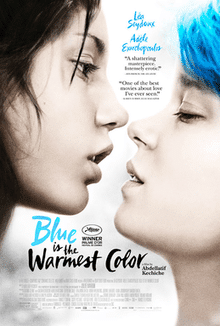 Blue Is the Warmest Colour being a French film full of rom-com, drama and sad movie