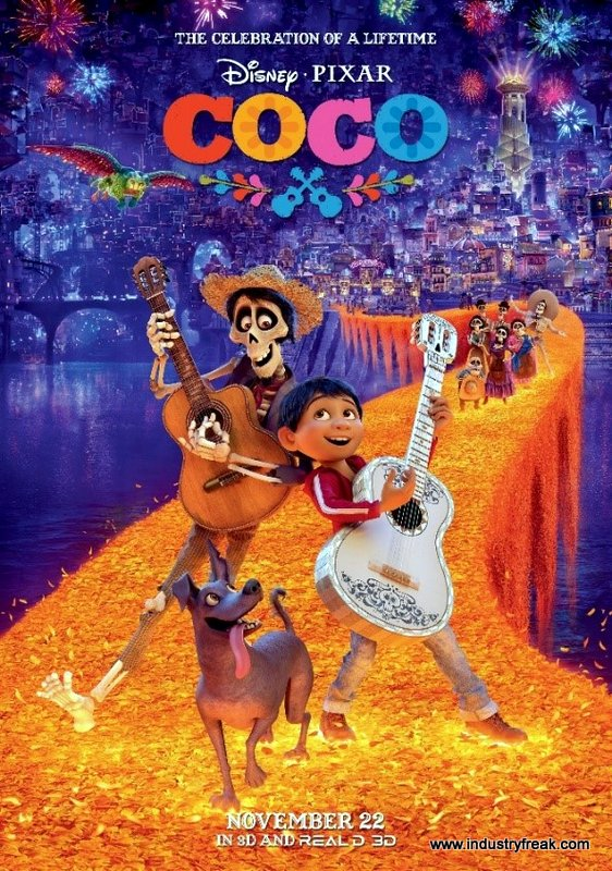 Coco is an animated movie