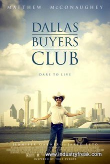Dallas Buyers Club is a drama, historical and sad movie