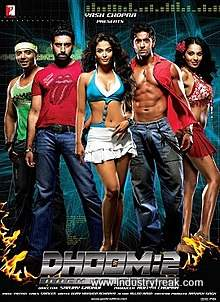 Dhoom 2 is 10th on the list of best action movies of bollywood