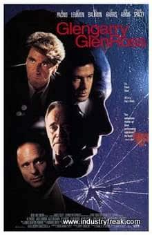 Glengarry Glen Ross (1992) is ranked number 3 in the list of top movies for entrepreneurs.