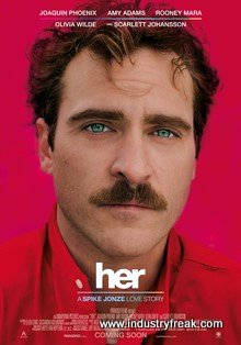 Her is a sci-fi, romantic, drama and sad movie