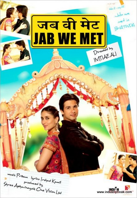 Jab We Met is a comedy, drama and also a romantic movie on Netflix