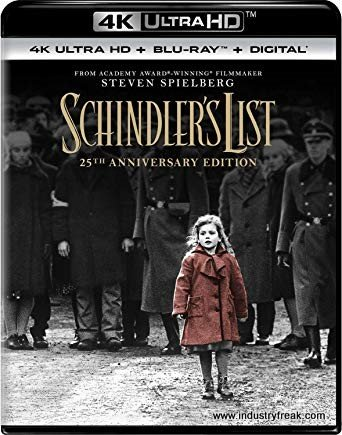 Schindler's List is a black-and-white, drama, sad movie