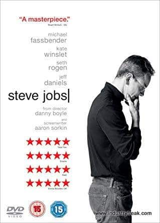 Steve Jobs (2015) is ranked number 5 in the list of top movies for entrepreneurs.