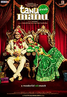 Tanu Weds Manu is a full package of the drama-comedy-romance movie