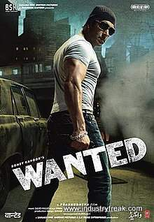 Wanted is 4th on the list of best action movies of bollywood