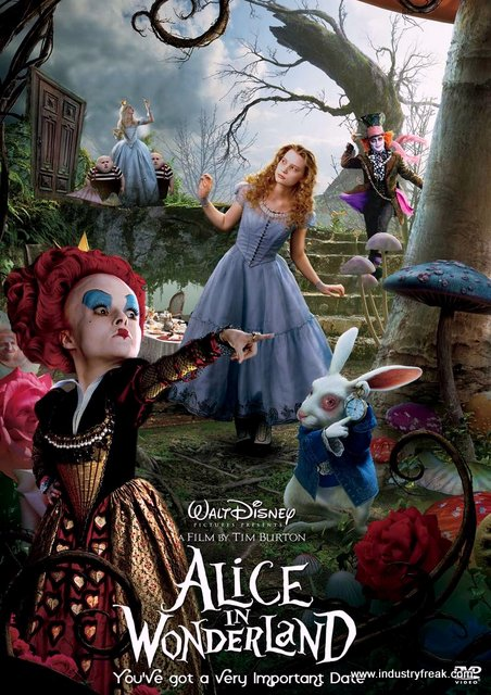 Alice in the wonderland is one of the most famous movie in disney animated movies.