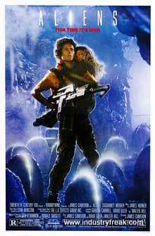 Aliens ranks 4rth in the list of top Hollywood action movies.