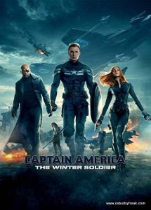 Captain America: The Winter Soldier ranks 31st in the list of top Hollywood action movies.