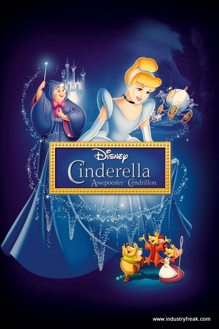 Cinderella is one of the most famous movie in disney animated movies.