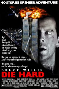 Die Hard ranks 3rd  in  the list of top Hollywood action movies.