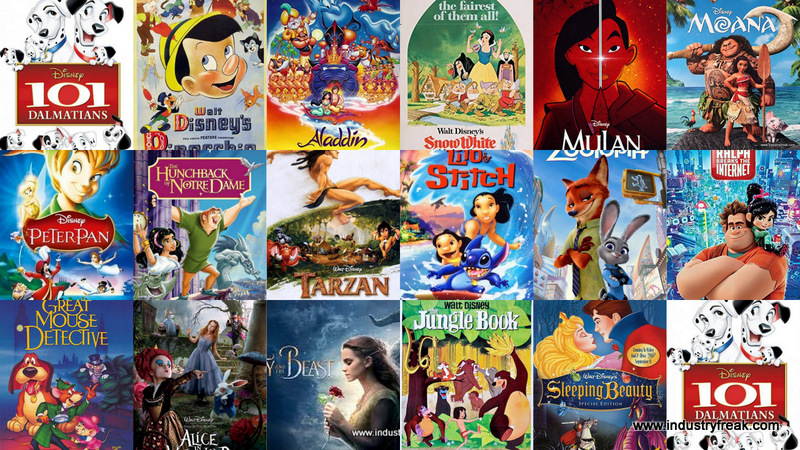 Bets Disney Animated Movies