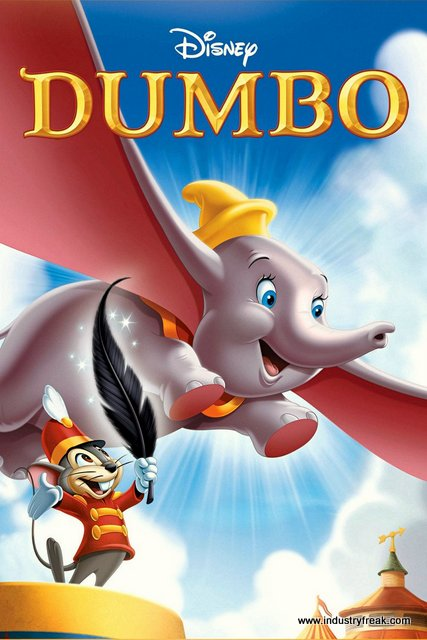 dumbo is one of the most loved animated movie by dsiney