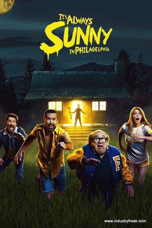 It's Always Sunny Philadelphia ranks at 9 on the list of top hulu original series.