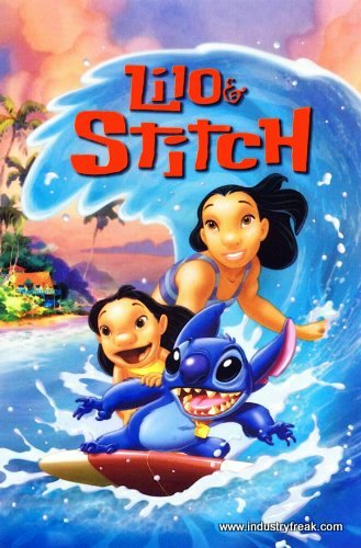 Lilo and stitch animated walt disney movie